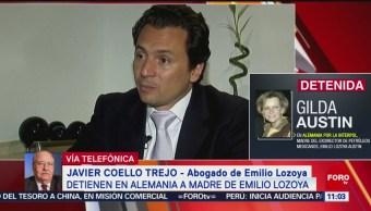 Abogado Javier Coello confirma detención de madre de Emilio Lozoya