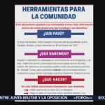 Foto: Campaña Contra Redadas Antinmigrantes Nueva York 12 Julio 2019