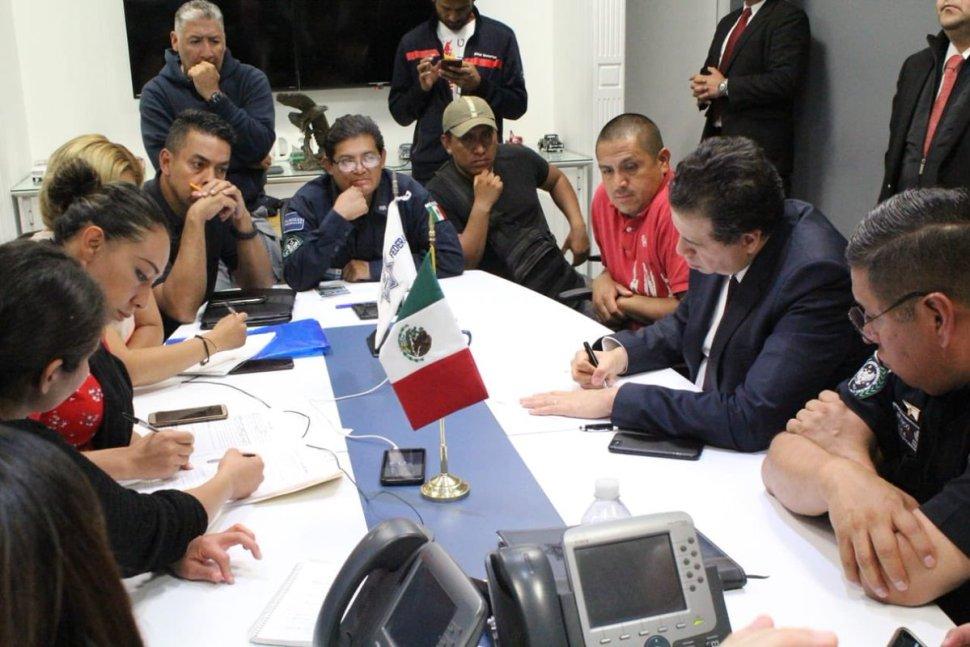 Foto Acuerdo entre el gobierno federal y Policía Federal 9 julio 2019