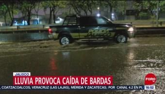 FOTO: Afectaciones por lluvias en Jalisco