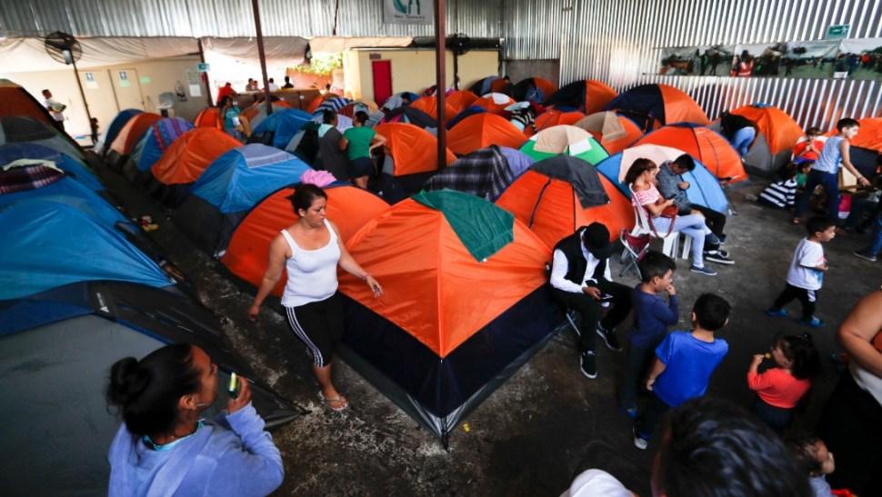 Foto: Albergue para migrantes en Tijuana, 9 de junio de 2019, México