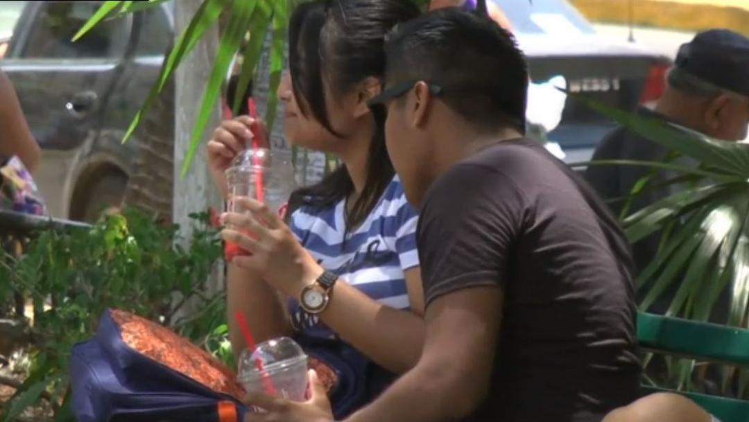 Foto: Conagua informó que las temperaturas elevadas continuarán para este domingo y lunes en Yucatán, 13 de julio de 2019 (Noticieros Televisa)