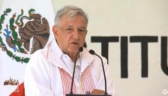 Foto: El presidente Andrés Manuel López Obrador recordó cuando trabajó con indígenas chontales en Tabasco, su estado natal, el 6 de julio de 2019 (Gobierno de México YouTube)