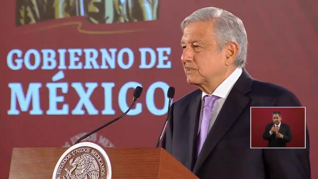 Foto: López Obrador en conferencia de prensa, 29 de julio de 2019, Ciudad de México