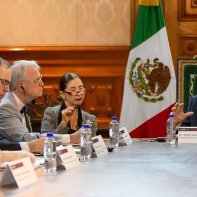 AMLO se reunió con legisladores de Estados Unidos para hablar sobre T-MEC