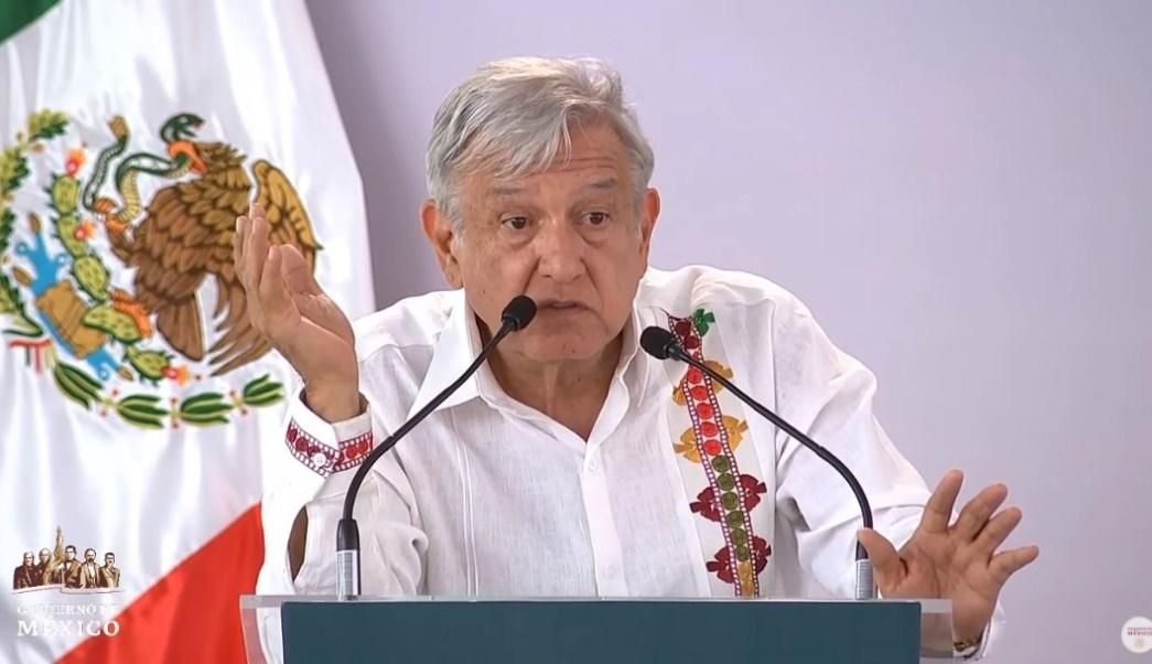 Foto: El presidente Andrés Manuel López Obrador dijo que hasta octubre culminará su gira por la salud en los 80 Hospitales Rurales del IMSS Bienestar, el 28 de julio de 2019 (Gobierno de México YouTube)