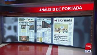 Análisis de las portadas nacionales e internacionales del 11 de julio del 2019