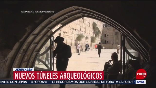 Apertura de túnel arqueológico bajo Jerusalén genera polémica