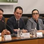 Arturo Herrera comparece en la Cámara de Diputados