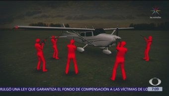 Asaltan avioneta con recursos federales en Chiapas