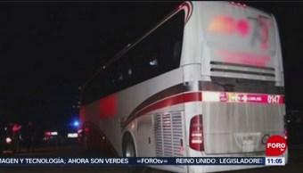 Asaltan transporte de personal en la México-Puebla