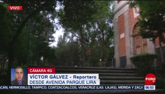 Asesinan a dos personas en Parque Lira, en CDMX