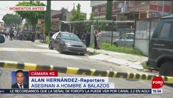 FOTO: Asesinan a un hombre a balazos en Iztapalapa, 7 Julio 2019