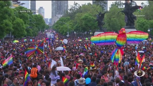 Foto: Marcha Orgullo Gay Cdmx 2019 1 Julio 2019
