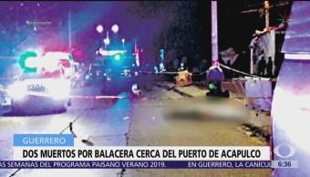 Atacan a policías en Acapulco, Guerrero