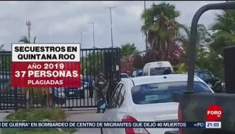 Foto: Víctimas Secuestro Quintana Roo 3 Julio 2019