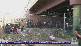 Aumenta número de migrantes arrestados en EU