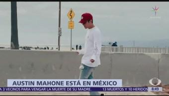 Austin Mahone en México tras tres años de ausencia