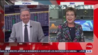 Foto: Bolsa Mexicana Valores Cíada Mayor Hoy 31 Julio 2019