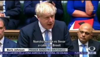 Boris Johnson hace su debut en el Parlamento británico