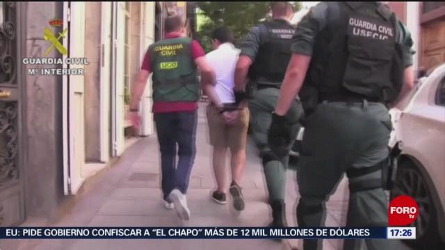 FOTO: Cae el mayor estafador cibernético de España, 6 Julio 2019