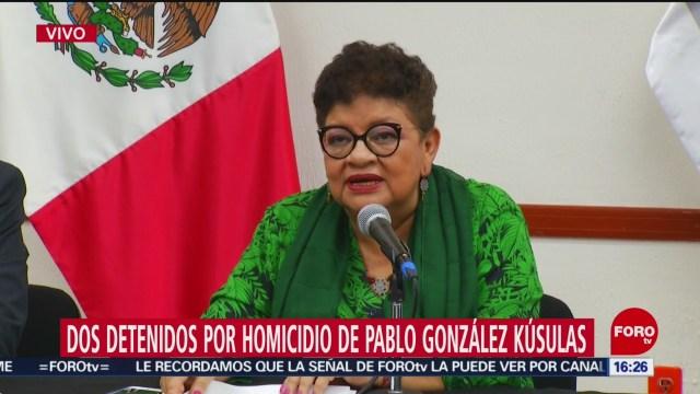 Caen 2 por el homicidio de Pablo González Kúsulas