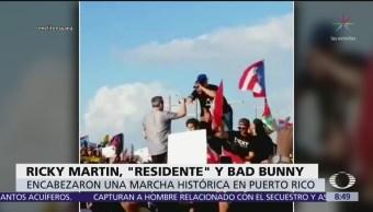 Cantantes alzan la voz en Puerto Rico
