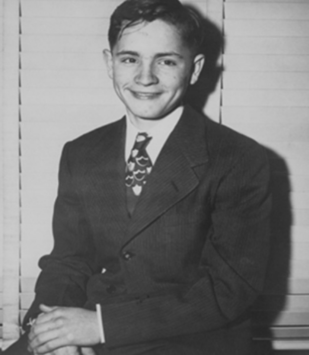Foto: Charles Manson adolescente. 25 de julio 2019