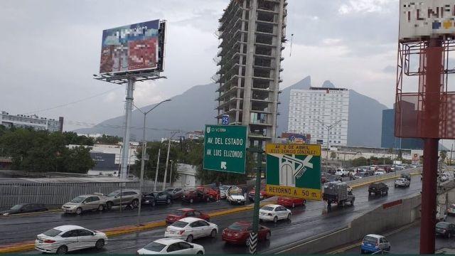 Foto: carambola en Monterrey, 4 de julio 2019. Twitter @spvmty