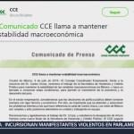 FOTO. CCE reconoce labor de Urzúa, quien renunció a la SHCP