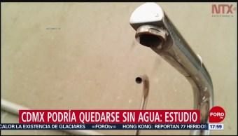 Foto: CDMX posibilidades quedarse sin agua