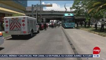 Choca ambulancia cuando trasladaba a paciente en Jalisco