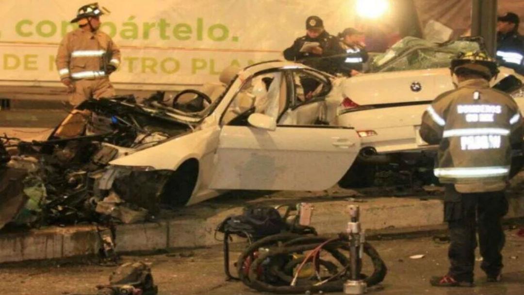El 31 de marzo de 2017, un automóvil se estrelló contra un poste en la esquina de Reforma y Lieja