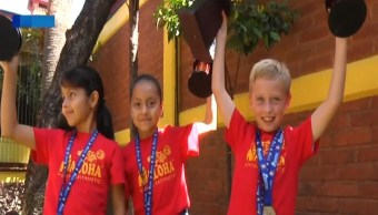 Foto Niños de Hidalgo ganan campeonato de cálculo mental en China 31 julio 2019