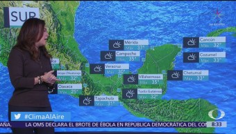 Clima Al Aire: Lluvias en el centro de la República Mexicana