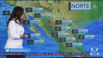 Clima Al Aire: Lluvias fuertes en norte, occidente y sureste de México