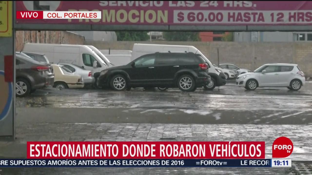 Foto: Roban Vehículos Estacionamiento Portales Cdmx 18 Julio 2019