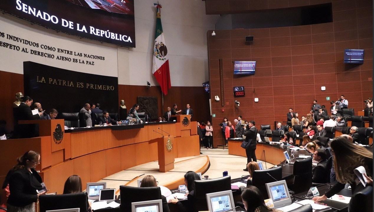 Foto: Sesión de la Comisión Permanente, 8 de julio 2019. Twitter @CanalCongreso