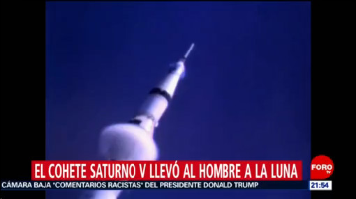 Foto: Cohete Saturno V Usado Misión Apolo 11 16 Julio 2019