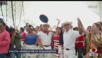 Con la presencia de la actriz Yalitza Aparicio, arrancó hoy la Guelaguetza 2019