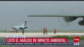 FOTO: Concluye análisis de impacto ambiental del Aeropuerto de Santa Lucía, 21 Julio 2019