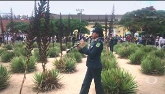 Foto: Concluye Guelaguetza Participación Sedena Flashmob 29 Julio 2019