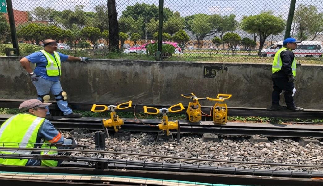 Foto Concluyen trabajos de mantenimiento en Línea 3 de Metro CDMX 22 julio 2019