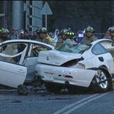 Libertad condicional a conductor del BMW que chocó en Reforma