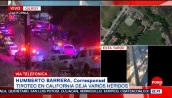 FOTO: Confirman tres muertos por tiroteo en California, 28 Julio 2019