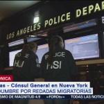 FOTO: Cónsul general de México en NY confirma inicio de redadas, 14 Julio 2019