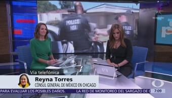 Consulados, listos para apoyar a migrantes mexicanos antes posibles redadas en EU