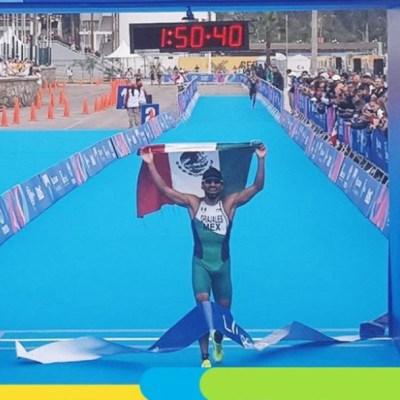 Crisanto Grajales se impone en el triatlón y se lleva oro en Panamericanos