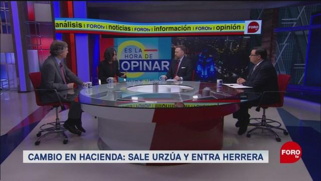 Foto: Analistas Debaten Salida Secretario Carlos Urzúa Llegada Arturo Herrera Hacienda 11 Julio 2019