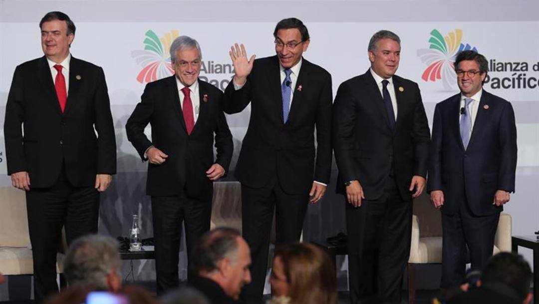 Foto: Cumbre Alianza del Pacífico en Lima, (EFE)